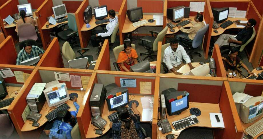 The mastermind behind a scam run out of multiple Indian call centers pleaded guilty in Houston this week to the operation that bilked thousands of victims out of millions of dollars over several years. The callers impersonated IRS tax collectors and other government officials. Photo: IndiaPictures, Contributor / UIG Via Getty Images / This content is subject to copyright.