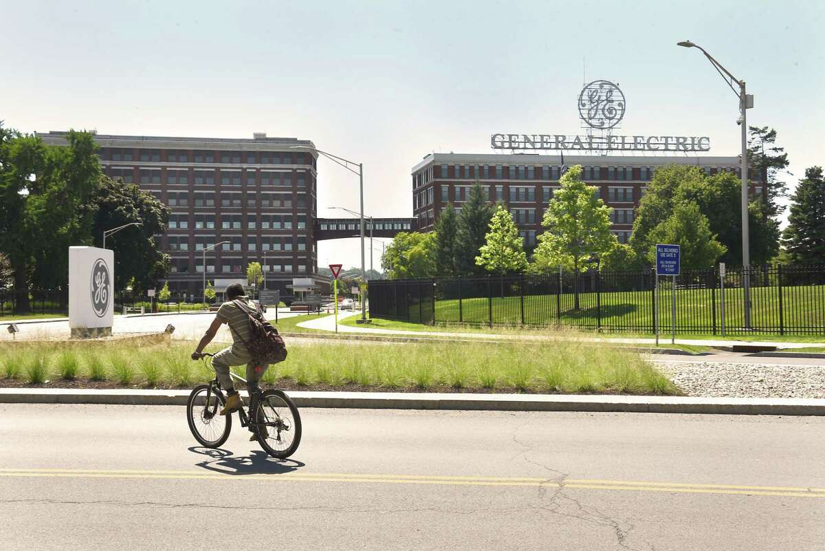 Exterior of General Electric on Friday, July 20, 2018 in Schenectady, N.Y. (Lori Van Buren/Times Union)