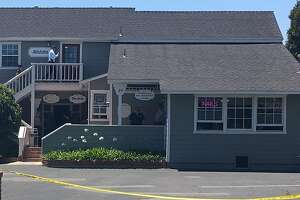 The building in Goleta where Keith David Goodwin allegedly shot himself.