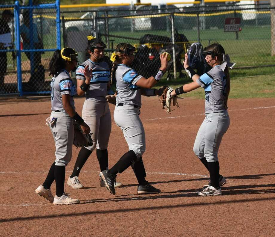 The 2018 PONY League Softball South Zone World Series continued in Laredo on Friday. 18U Federation, pictured, finished in fourth place as only 10U Federation and 14U Laredo All-Stars remain alive. Photo: Christian Ocampo / Laredo Morning Times
