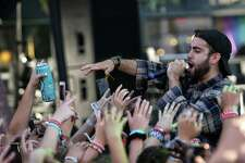 Sam Lachow performs on day one of the 2018 Capitol Hill Block Party music festival, July 20, 2018.