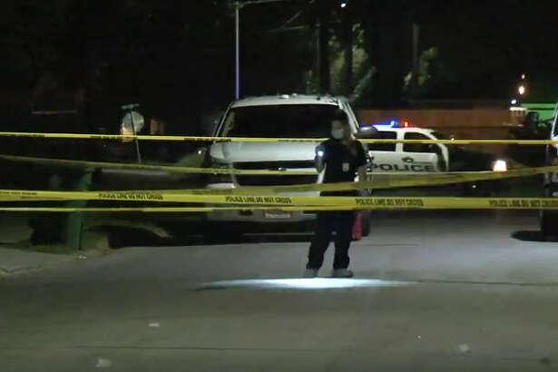 A man was shot to death near a gas station on Kenilwood.