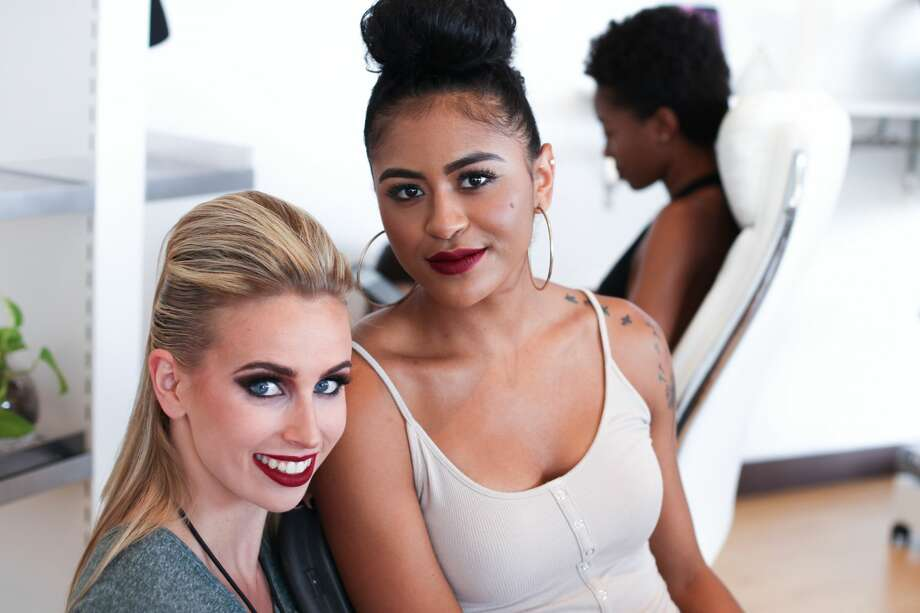 Watch who struck a pose at the Audacious Resort Fashion Show by Golden Skyy on Friday, July 20, 2018, at The Shops at La Cantera. Photo: Fabian Villa For MySA.com