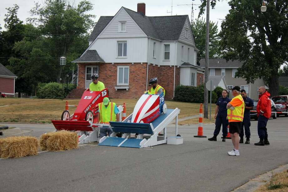 A scene from last year's Cart Derby races in Harbor Beach. Photo: Tribune File Photo