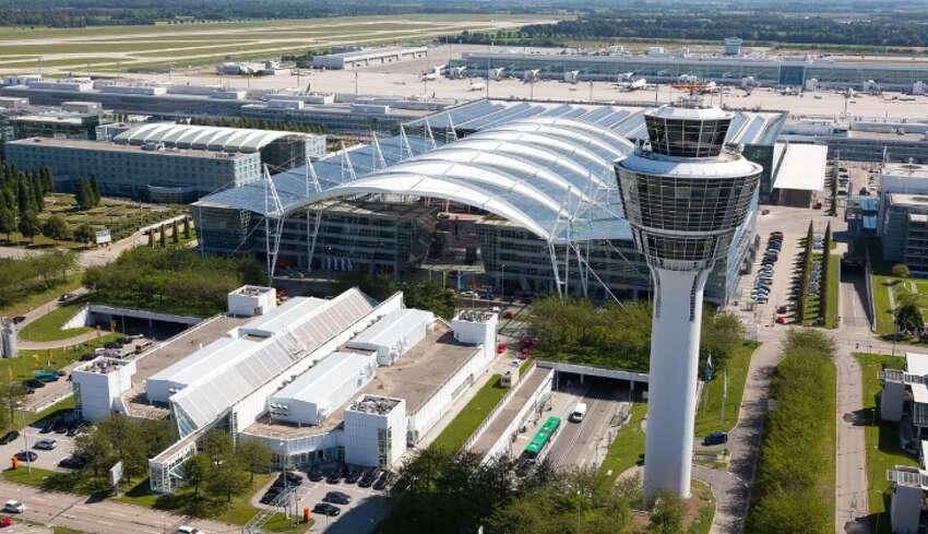 Flight delays at European airports more than doubled so far this year. (Photo: Munich Airport)