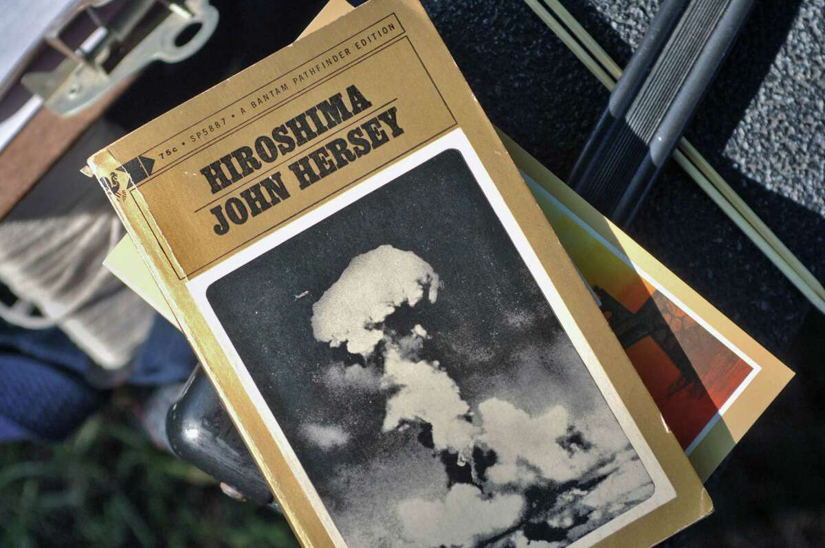Readings of John Hersey's account of the aftermath of the 1945 nuclear bombing of Hiroshima, Japan, in 1945, will be Aug. 6 2021 at Albany's Townsend Park. (Times Union archive)