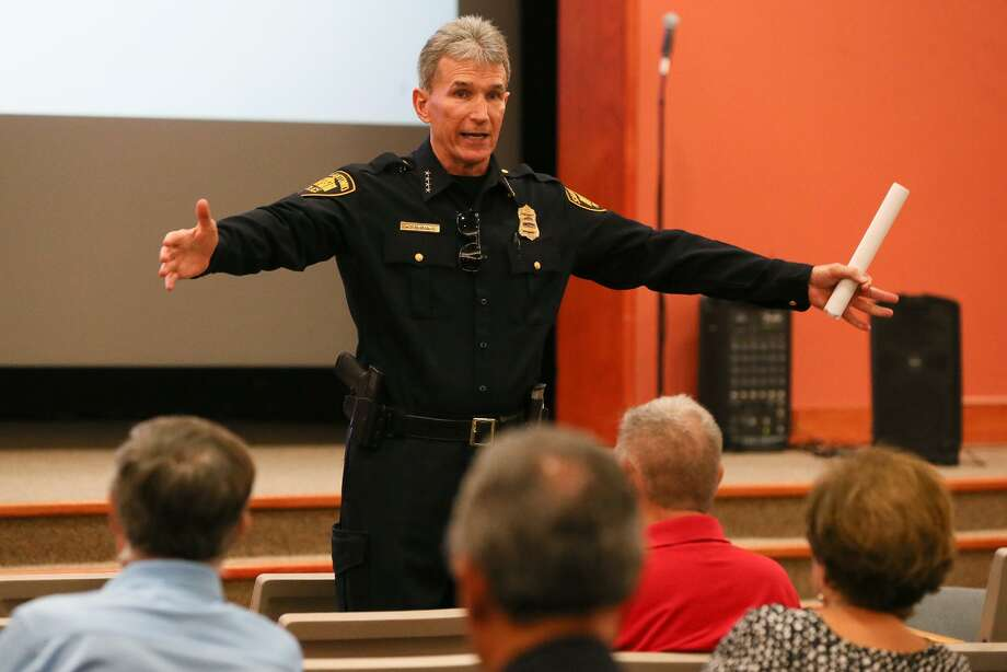 San Antonio Police Chief William McManus  Photo: Marvin Pfeiffer /Staff Photographer / Express-News 2018