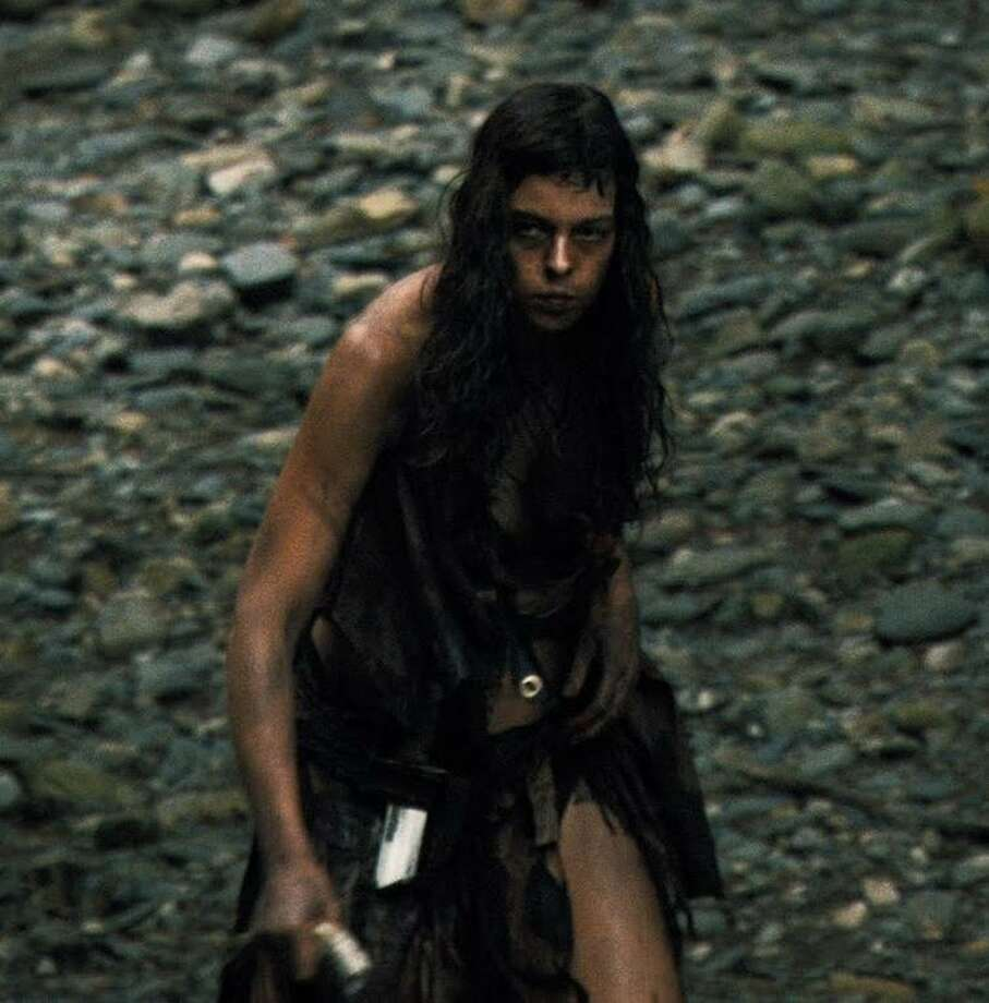 "Pollyanna McIntosh plays one of the last of a tribe of feral cannibals in the 2011 film ""The Woman."" Photo: Bloody Disgusting 2011"