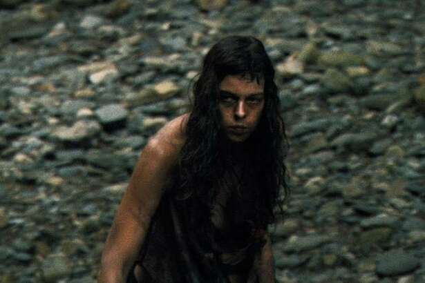 "Pollyanna McIntosh plays one of the last of a tribe of feral cannibals in the 2011 film ""The Woman."""
