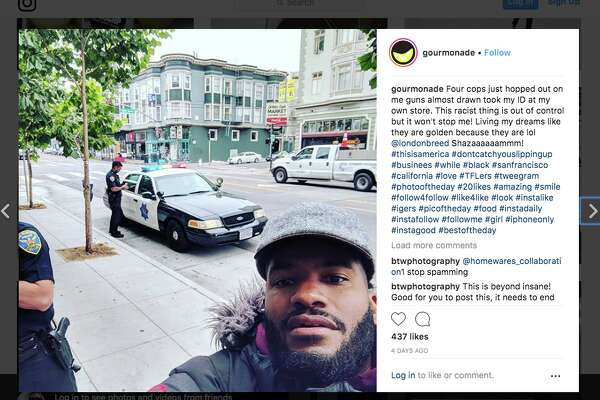 Viktor Stevenson said that he had the San Francisco Police Department called on him earlier this week while he was opening his lemonade stand in the Mission District because someone in the neighborhood thought he was breaking into his own business.