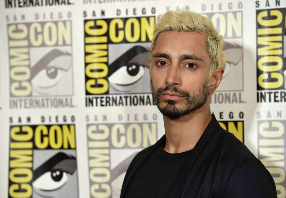 "Riz Ahmed attends the ""Venom"" press line on day two of Comic-Con International on Friday, July 20, 2018, in San Diego. (Photo by Chris Pizzello/Invision/AP) Photo: Chris Pizzello / Invision"