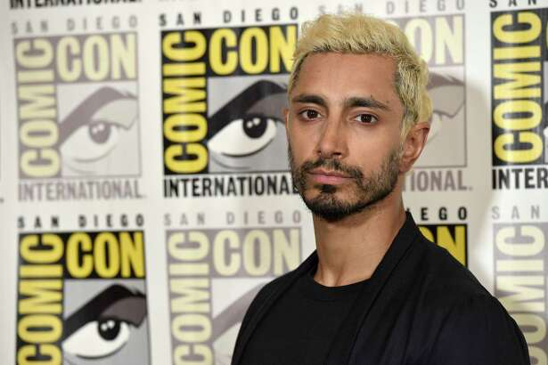 """Riz Ahmed attends the """"Venom"""" press line on day two of Comic-Con International on Friday, July 20, 2018, in San Diego. (Photo by Chris Pizzello/Invision/AP)"""