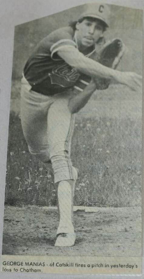 I played hockey and baseball in high school and college baseball.  Photo: Courtesy Of George Manias