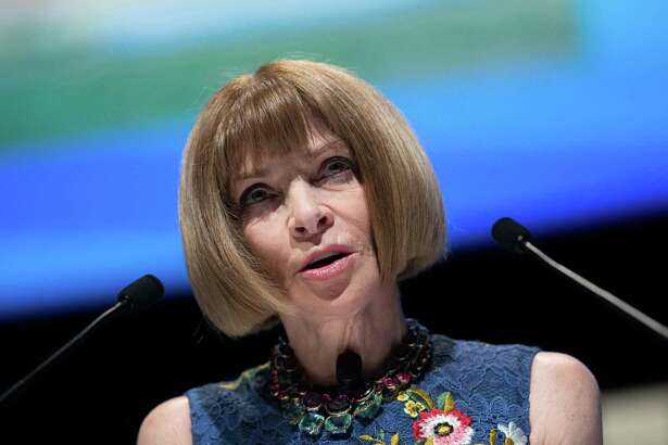 Anna Wintour, editor-in-chief of Vogue magazine, at the Cannes Festival of Creativity in Cannes, France, on June 20, 2016. MUST Christophe Morin/Bloomberg