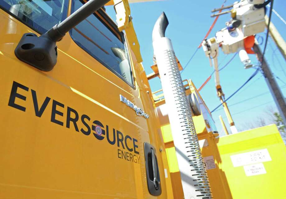 As of Sunday afternoon, about 136,000 Eversource customers remain without power, according to outage data provided by the company. Photo: Cathy Zuraw / Hearst Connecticut Media / Connecticut Post