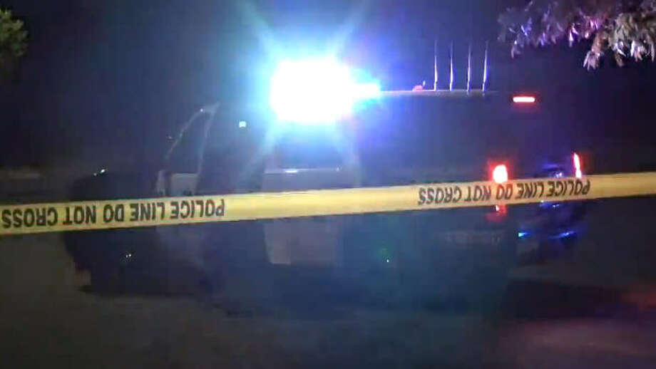 A man was found shot to death in his car late Saturday in south Houston. Photo: Metro Video