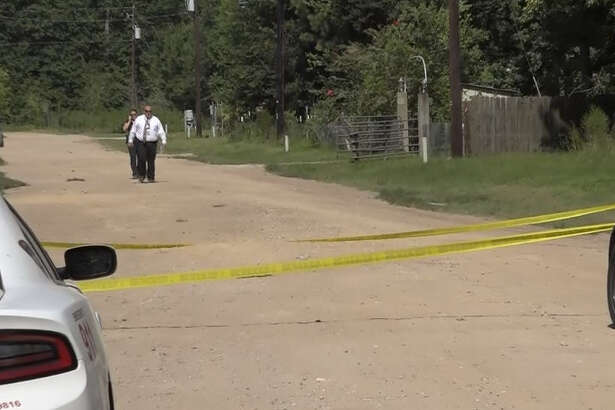 A man was found dead in a ditch in Splendora on Sunday.