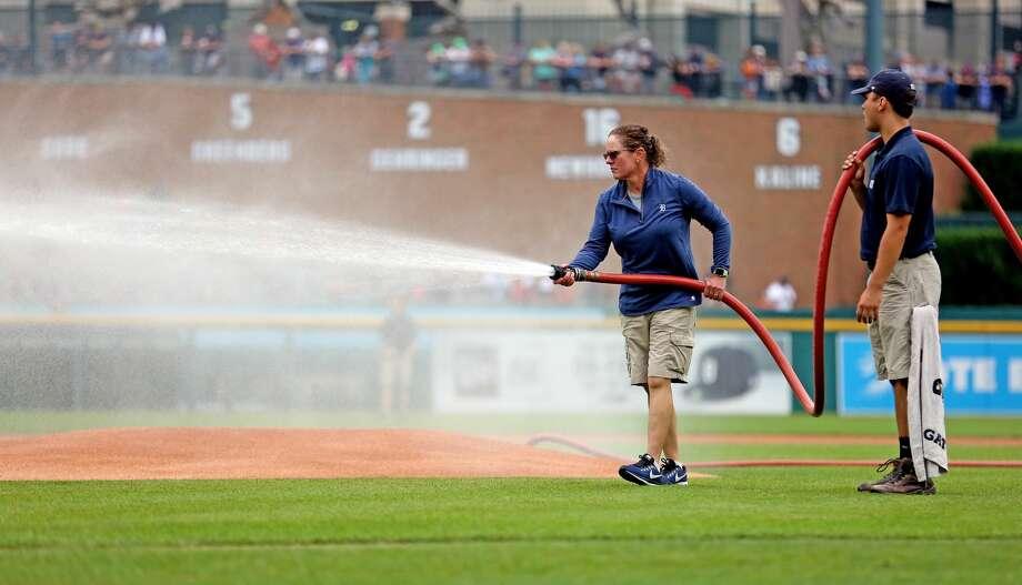 Tigers 5, Red Sox 0 Photo: Paul P. Adams/Huron Daily Tribune