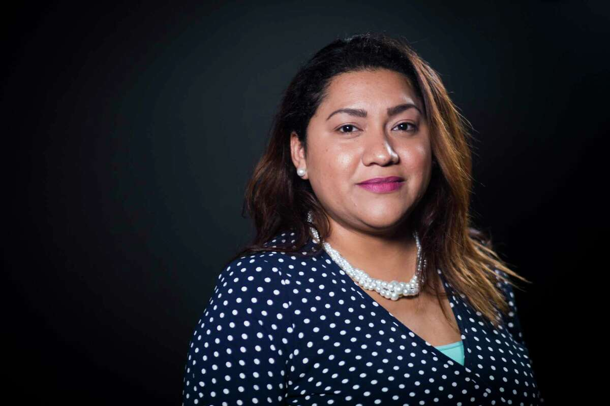 Sema Hernandez lives in Pasadena, where many of her friends and family work at oil refineries.