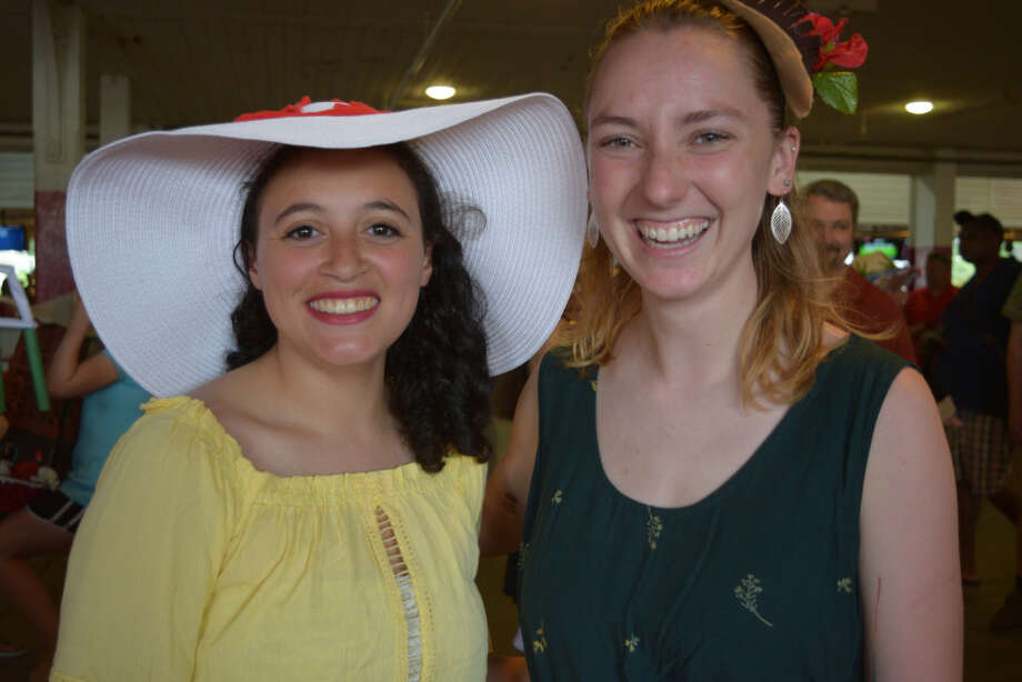 Were you Seen during the Annual Hat Contest at Saratoga Race Course on Sunday, July 22, 2018? Photo: Ed Lewi Associates/Cait Perry