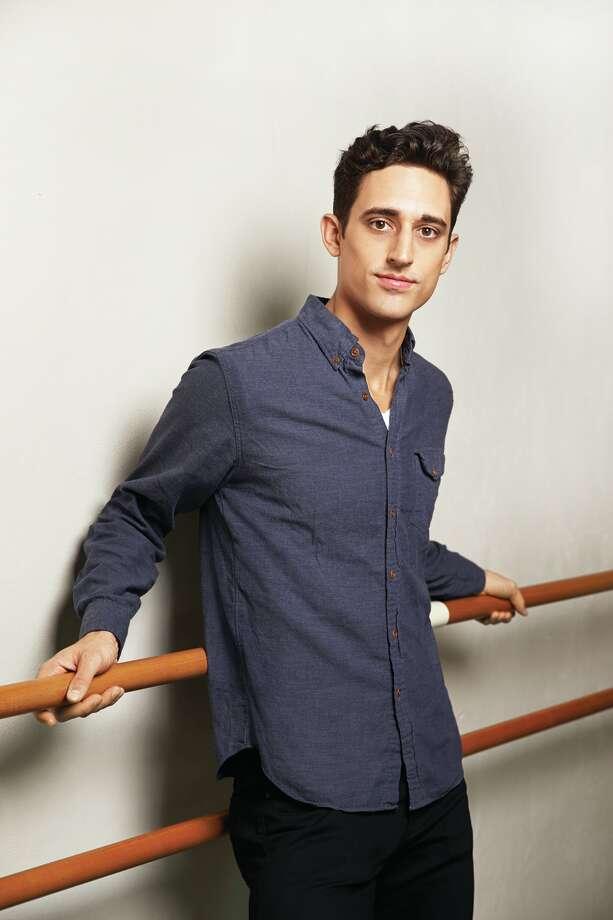 Justin Peck of the New York City Ballet. (Photo Alberto Oviedo) Photo: OVIEDO_STUDIOS