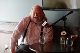 """Jonathan Gold on the SiriusXM show, """"First Date with Will Guidara"""" in May."""