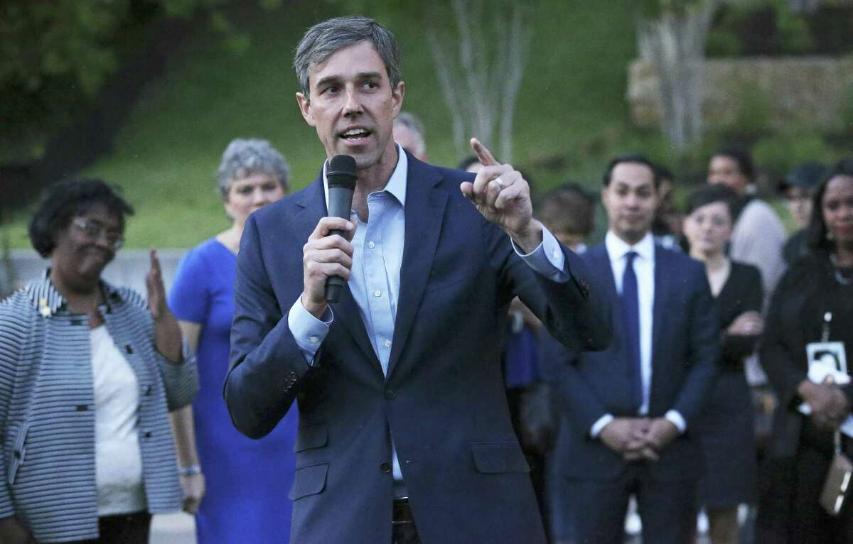 U.S. Rep. Beto O'Rourke, seen in Austin on April 4, has narrowed the gap between him and U.S. Sen. Ted Cruz, according to a recent poll.