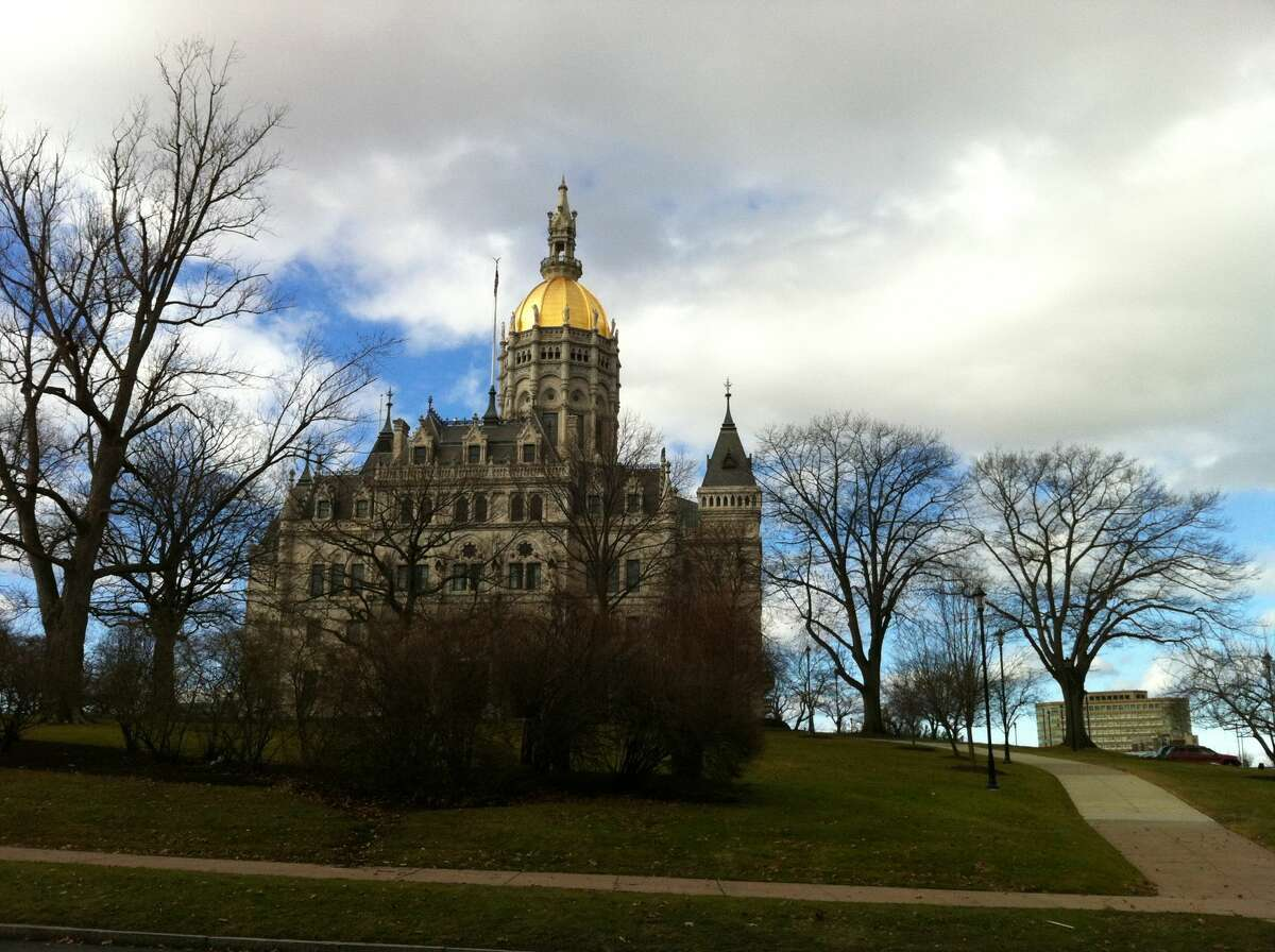 Capitol building in Hartford, Conn.