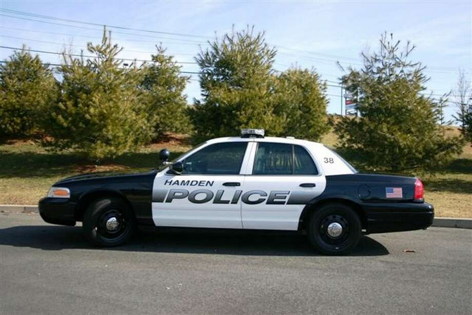 A Hamden Police Department police cruiser. Photo: New Haven Register File Photo