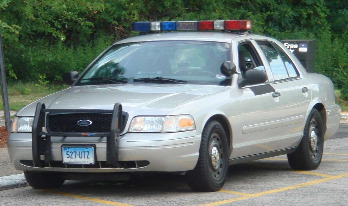 A Connecticut State Police Cruiser