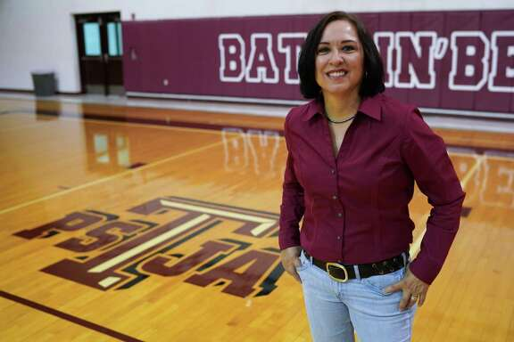 Amy Anders, 57, coached the boys high school varsity basketball team in the Pharr San Juan Alamo School District from 1989 to 1992. During that time she was believed to be the first woman in Texas to coach the boys team.