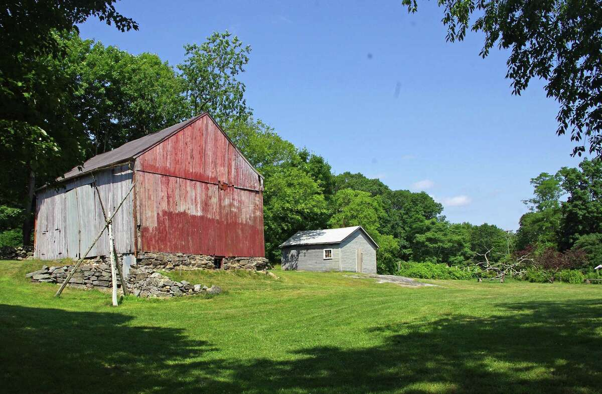 The Rettich barn, which is on the historic register.