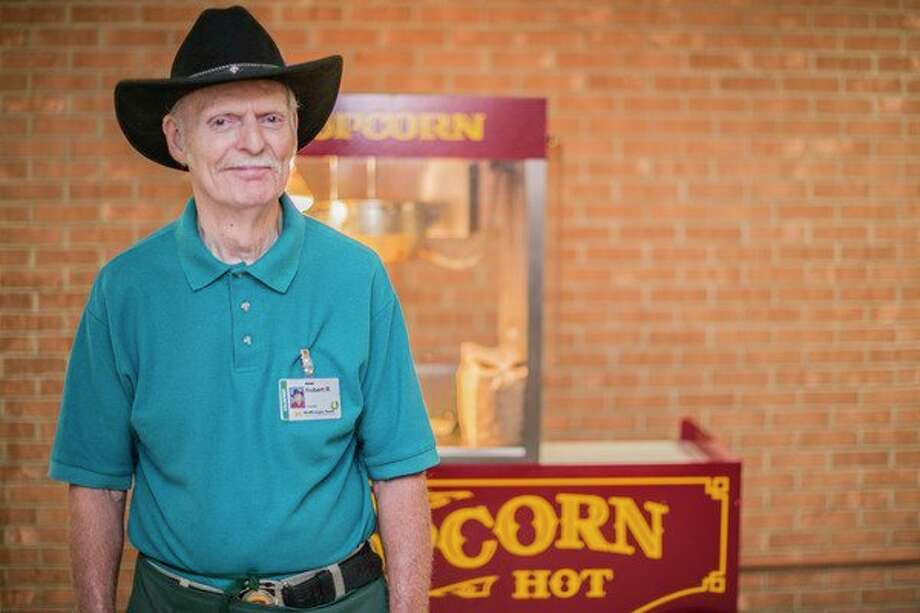 Bob 'Cowboy Bob' Reid volunteers at MidMichigan Medical Center - Midland because he enjoys bringing joy and smiles to the faces of those around him. (Photo provided)