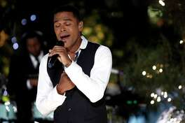 Singer Maxwell performs while taping a segment for the Grammy Nominations Concert Live in Los Angeles on Tuesday, Dec. 1, 2009. The Grammy Nominations Live Concert will take place Wednesday, Dec. 2 in Los Angeles.