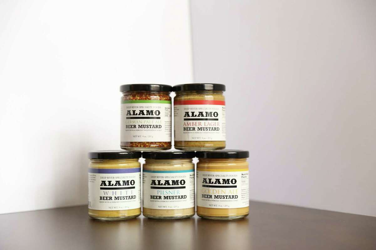 Deep River Specialty Foods of San Antonio is a contestant in H-E-B's 5th Annual Quest for Texas Best competition. Deep River Specialty Foods has released a number of products over the past 25 years, and it's a quintet of mustards made with Alamo Beer Co. brews that was recognized.