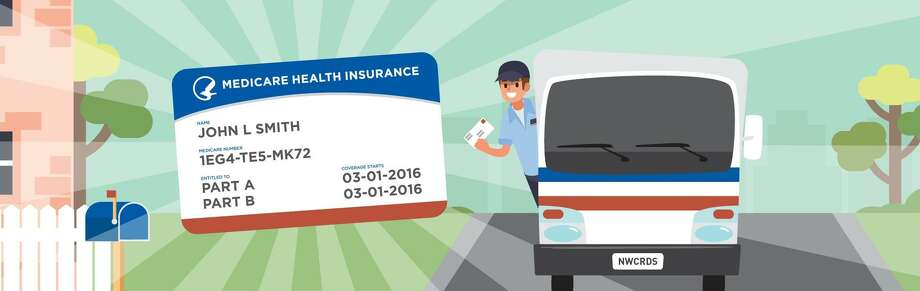 The U.S. Centers for Medicare & Medicaid Services is mailing new Medicare  cards designed to protect the safety of Medicare recipients by no longer  including Social Security numbers on the card. Instead, the card will be printed with a unique, randomly-assigned Medicare  number. Photo: Contributed / Centers For Medicare & Medicaid Services