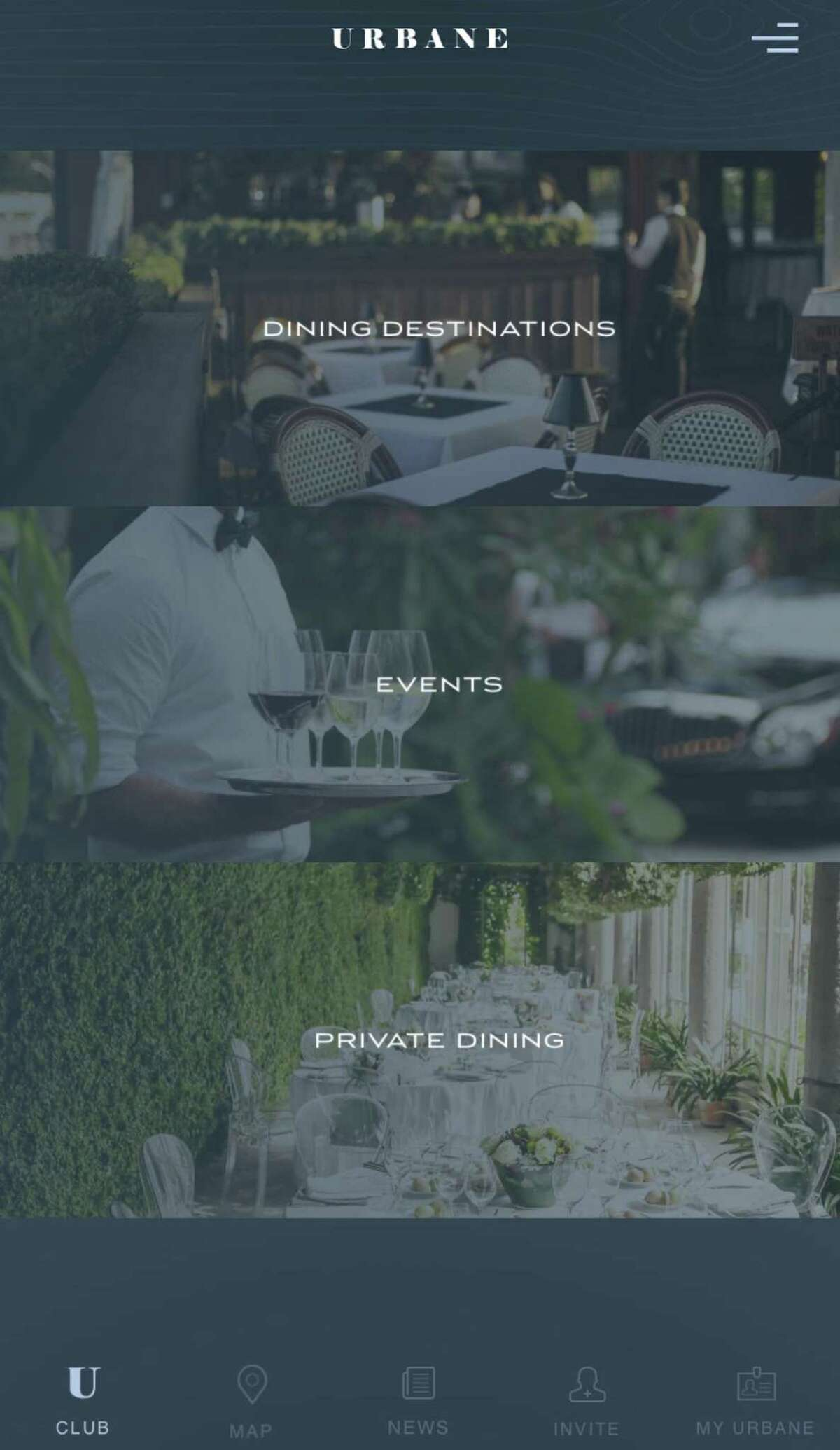 The Urbane Society is a members-only club for young professionals aged 21 to 34 who are interested in experiencing premium fine dining at an affordable rate.