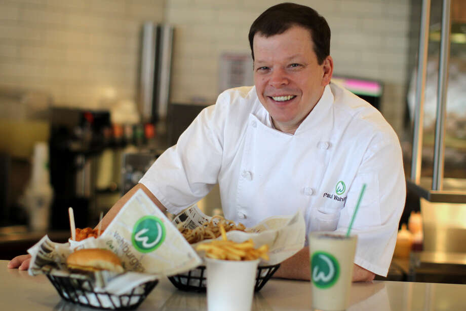 Paul Wahlberg at Wahlburgers in Hingham, Mass. on January 25, 2012. Photo: Boston Globe/Boston Globe Via Getty Images / 2012 - The Boston Globe