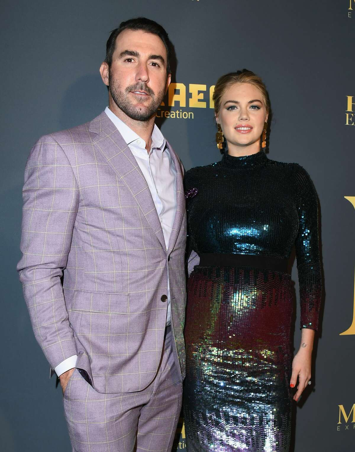 Host Kate Upton and her husband Justin Verlander attend The Maxim Hot 100 Experience at Hollywood Palladium on July 21, 2018 in Los Angeles, California.