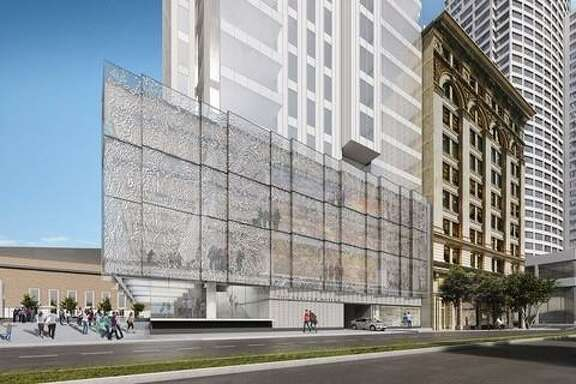 Rendering of the future Mexican Museum at 706 Market Street