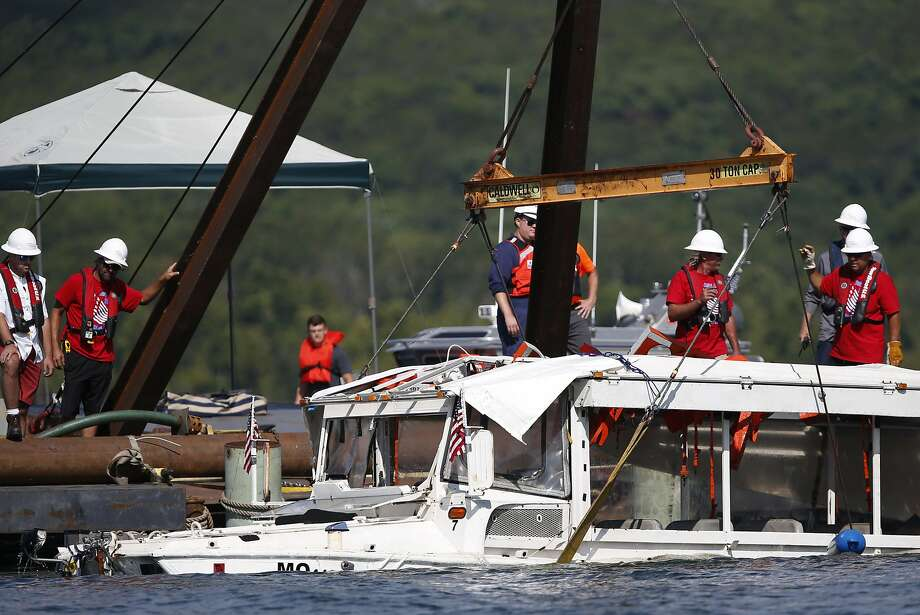 Duck boat probe in Missouri to focus on certification limits - SFGate