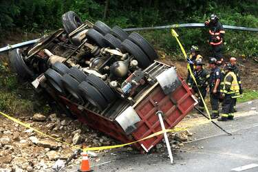Driver killed in dump truck crash also involved in July