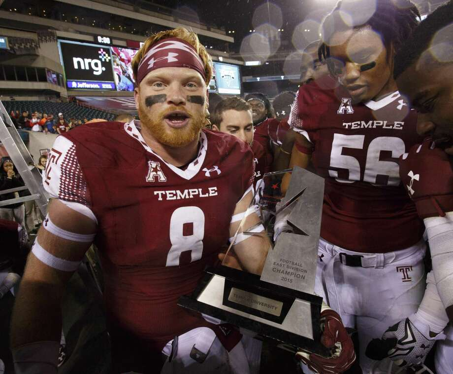 Former Temple linebacker Tyler Matakevich was named to the AAC's 5th anniversary team. Photo: Chris Szagola / Associated Press / FR170982 AP