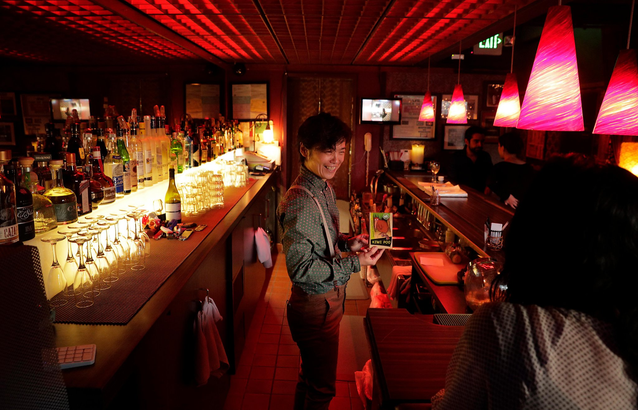 Artist's Life: Bartending Pays For Dive Bar Photo Project