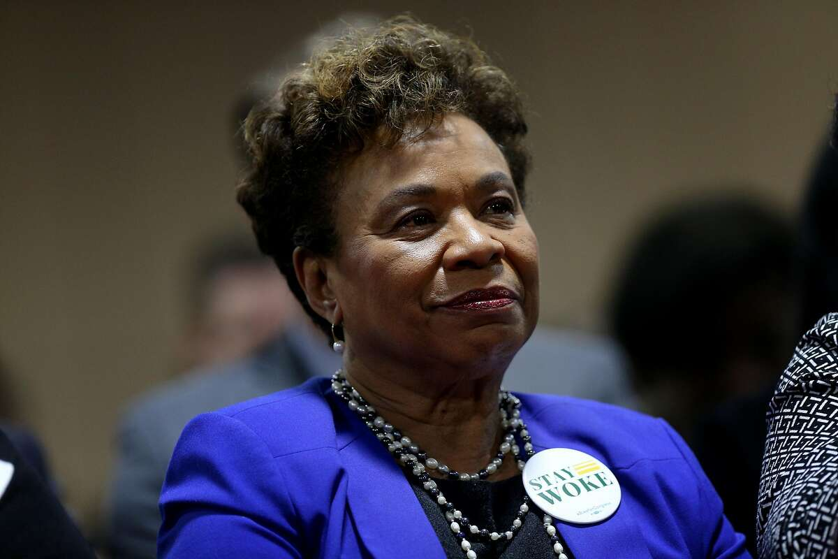 Congresswoman Barbara Lee during The Barbara Lee & Elihu Harris Lecture Series at the Oakland Marriott City Center, Saturday, March 10, 2018, in San Francisco, Calif.