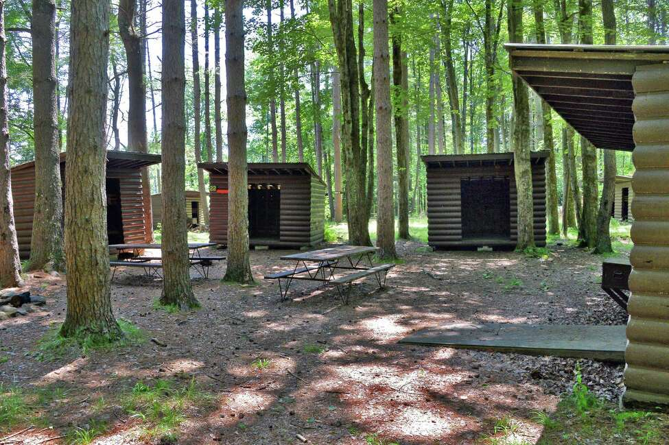 Campers' cabins at the old boy scout camp of Boy Haven Wednesday July 19, 2017 in Milton, NY. (John Carl D'Annibale/Times Union archive)