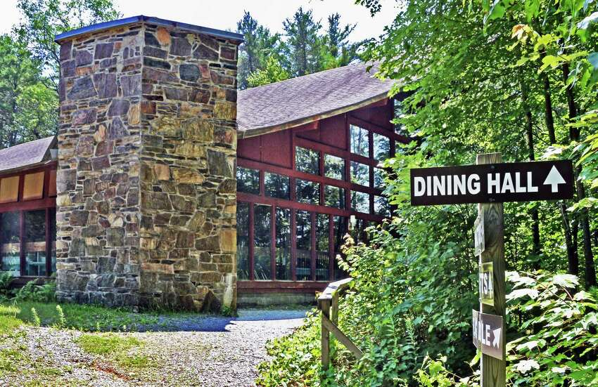 The Boy Scouts says Supervisor Scott Ostrander is to blame for the collapse of the Boyhaven deal. Dining Hall at the old boy scout camp of Boy Haven Wednesday July 19, 2017 in Milton, NY. (John Carl D'Annibale/Times Union archive)