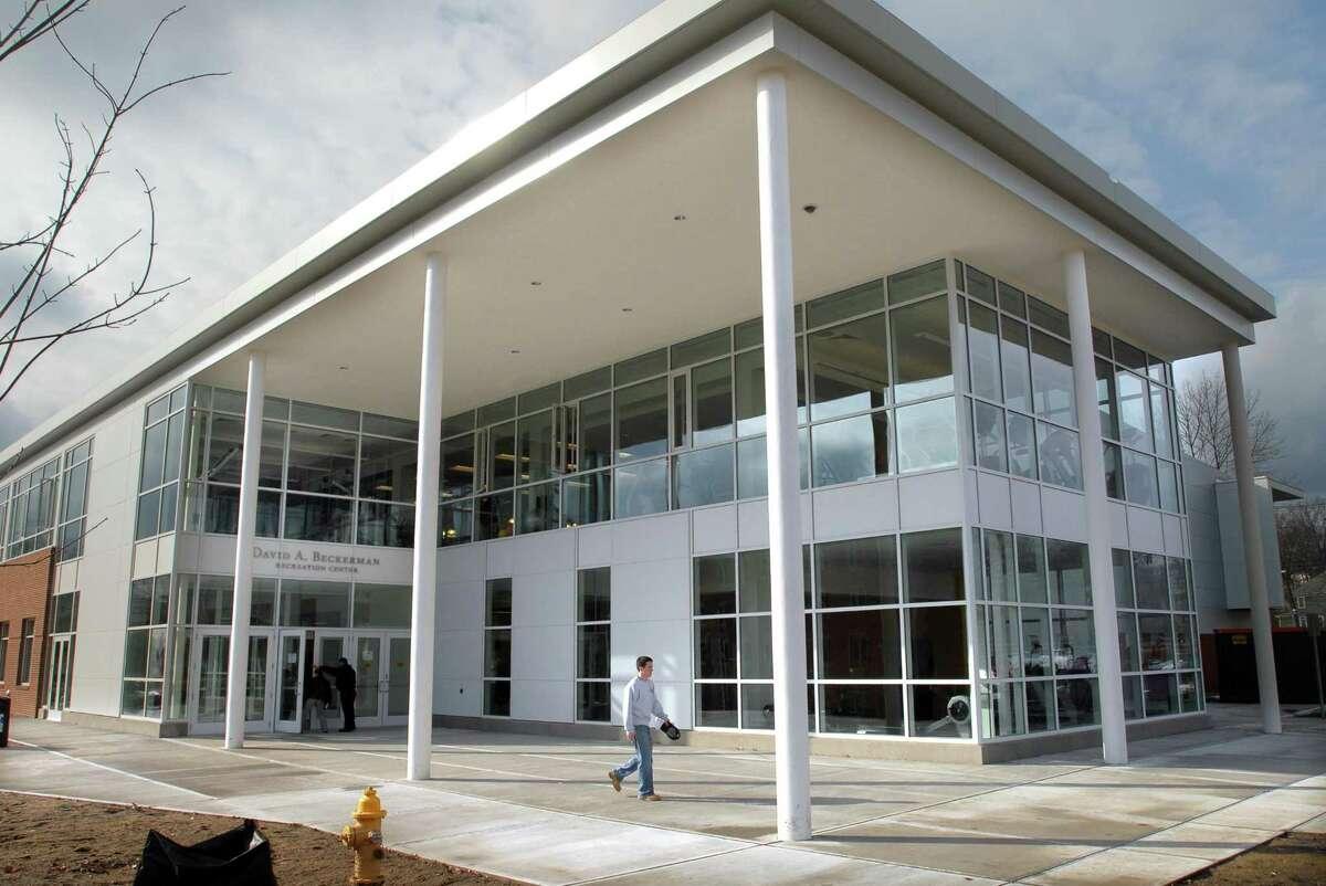 The University of New Haven's David A. Beckerman Recreation Center.