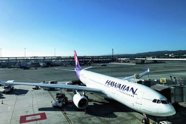 Hawaiian Airlines Airbus A330 flies from SFO to Honolulu every morning at 9 am