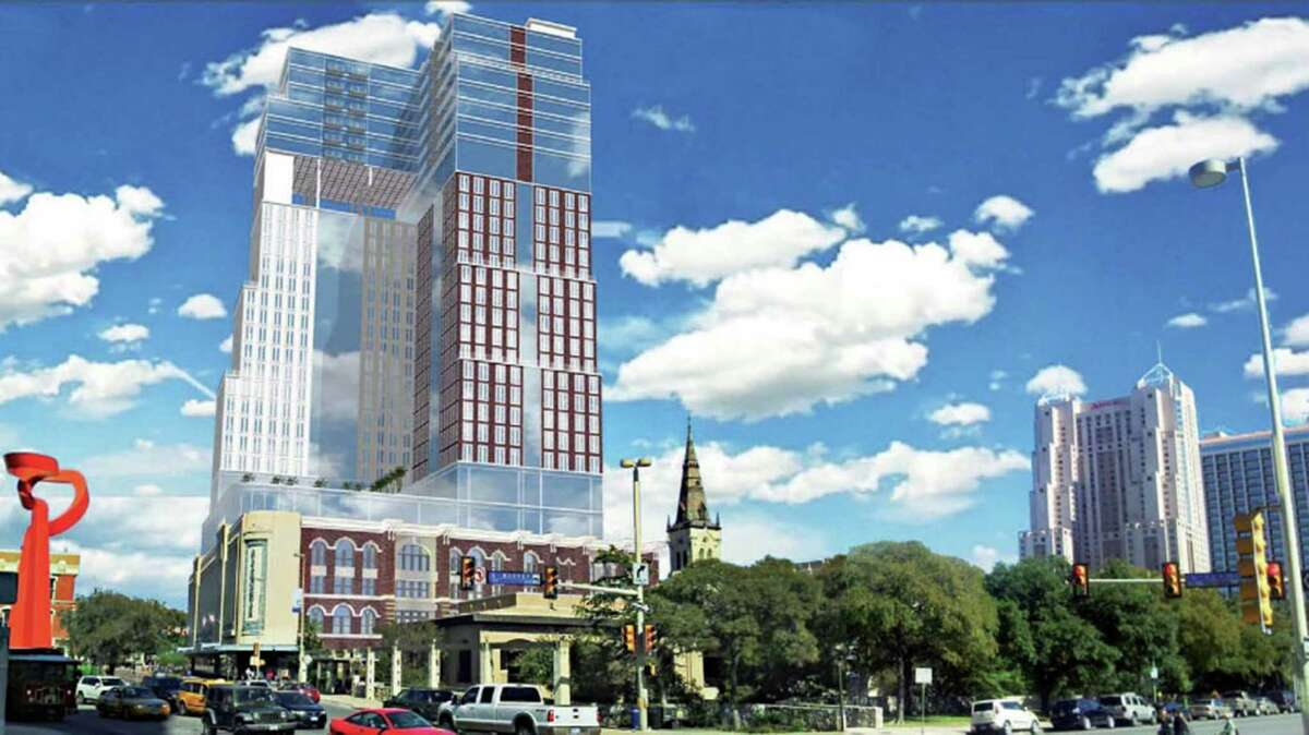 In 2013, Dallas-based BC Realty Partners proposed building the 23-story hotel, with at least 500 rooms, in partnership with Ashkenazy. After running into staunch opposition, the project was never built.